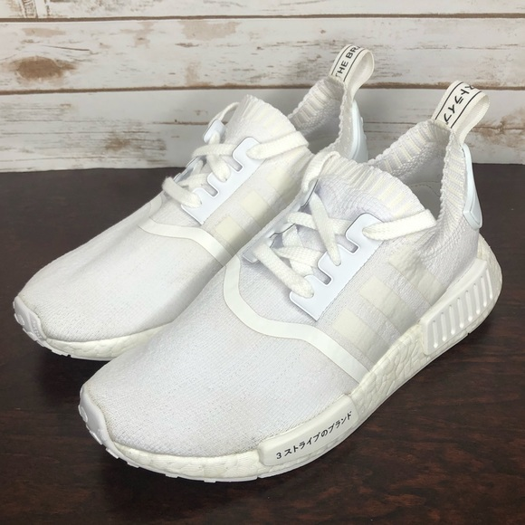 Formación global legal  adidas Shoes | Nmd R1 Boost Triple White Mens 5 | Poshmark